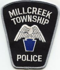 MILLCREEK TOWNSHIP PENNSYLVANIA PA large POLICE PATCH