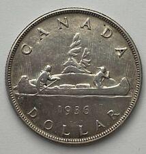 1936 Canada $1 Silver Dollar - One Year Type - A26