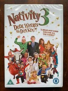 Nativity 3 DVD 2014 Christmas Family Movie Comedy Martin Clunes + Slipcover BNIB