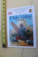DALE VELZY Is Hawk Book by Paul Holmes Surftech Surfboards Surfing 2006 Flyer