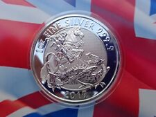 2019 GB VALIANT St. George and the Dragon coin .9999 fine silver in stock!