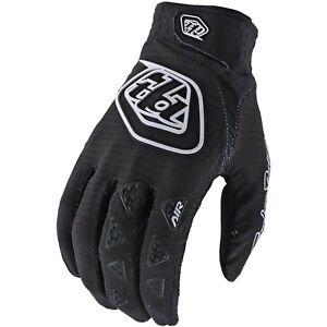Troy Lee Designs Air Gloves Youth Kids Mx Motocross Bmx Mtb Dh Cycling BLACK