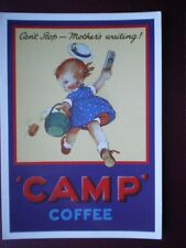 POSTCARD  CAMP COFFEE - CANT STOP MOTHERS WAITING