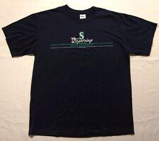 Seattle Mariners Mens Spring Training T-shirt Navy Arizona    *B3