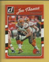 Joe Thomas 2016 Panini Donruss Card # 71 Cleveland Browns Football NFL
