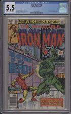 Iron Man #135 /_Bronze Age_/ Cgc 5.5 / 1231527018