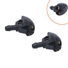 1 pair Plastic Car Auto Window Windshield Washer Spray Sprayer Nozzle Accessory