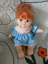 MY CHILD DOLL RED HAIR CLEAN W/CABBAGE PATCH KIDS DRESS
