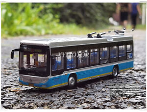 1/64 Beijing City Bus BJDWG-120 No.116 Electric Diecast Model Car Toys Gifts