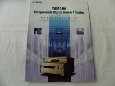 Yamaha Catalogue HI-FI Composants Digital Home Cinéma dans la langue italiana