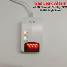 Natural Gas Leak Alarm LPG LNG Coal Gas Detector Home Security Sensor