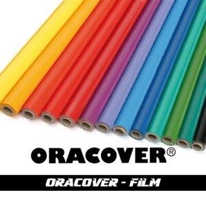 Oracover Iron On Profilm Covering 2m Rolls for RC, FF & Balsa Model Aircraft