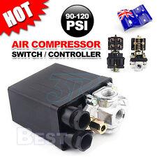 90-120psi 4 Port HeavyDuty Air Compressor Pressure Switch Control Valve