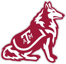 """Texas A&M Aggies NCAA Vinyl Car Bumper Window Sticker Decal 4.5""""X5"""""""