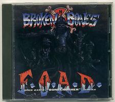 BROKEN BONES F.O.A.D. & Bonecrusher; 1993 CD Fall Out Records