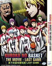 DVD ANIME KUROKO NO BASKET Movie: The Last English Subs Region All + FREE DVD