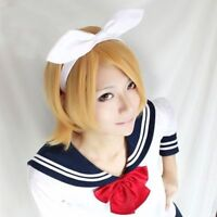 NEW High Quality For Cosplay Vocaloid Kagamine Magnet Rin Len Wig Party Cos Hair