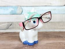 Limited Edition Unicorn Turquoise Blue Nose Glasses Holder Specs Stand