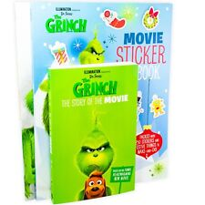 Dr. Seuss The Grinch 3 Book Collection The Story of the Movie, Movie Sticker