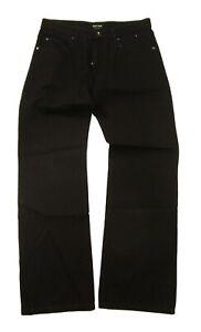 Giorgio Armani Men's Dark Wash Black Classic Fit Jeans