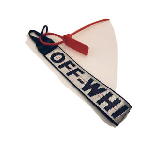 White Off White Inspired Industrial Keychain Lanyard - FREE SHIPPING!!! NY