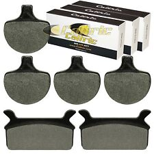 FRONT and REAR BRAKE PADS FIT HARLEY DAVIDSON FLHR ROAD KING 1340 1994-1998