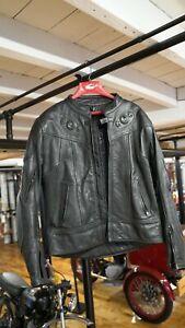 Frank Thomas Leather Jacket UK Size 44