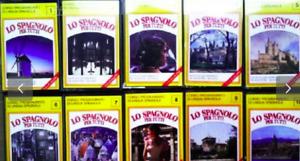 CORSO AUDIO LO SPAGNOLO PER TUTTI De Agostini 32 cassette RIP HQ MP3 FILES