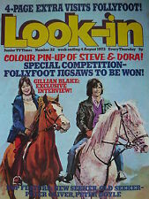 LOOK-IN MAGAZINE 4TH AUG 1973 -  FOLLYFOOT - NEW SEEKERS
