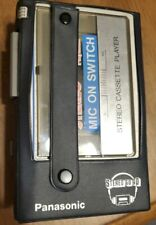 Panasonic Stereo To Go Cassette Player Rq-J11 Tested Works