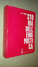 STORIA DELL'ENIGMISTICA - GIUSEPPE ALDO ROSSI - CENTRO EDITORIALE INTERNZIONALE
