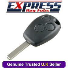 Renault 3 Button Remote Key Fob Case Shell Cover Fits Trafic Clio Master Kangoo