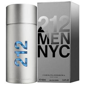212 MEN NYC 100ML EDT SPRAY BY CAROLINA HERRERA