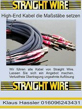 Straight Wire Musicabel LS Bi-Wiring 3m Neu Lautsprecherkabel