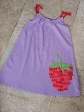 New Boden Raspberry Detail Jersey Sun Dress Age 5-6