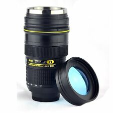 Thermo Camera Lens Cup with Stainless Steel Insulated Tumbler,1:1Nikon 24-70mm