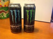 Monster Energy Drink 16 oz. Collectible Lo Carb Regular Can Call of Duty Ghosts