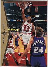 1994-95 UPPER DECK SP PROMO CARD: MICHAEL JORDAN #23 PROMOTIONAL SAMPLE BULLS