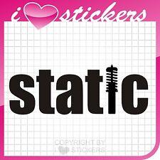 Aufkleber Static Gewinde Sticker OEM Shocker Decal 053