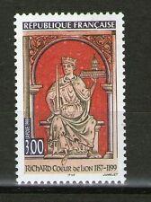 TIMBRE 3238 NEUF XX LUXE - RICHARD COEUR DE LION - HISTORIA ANGLORUS