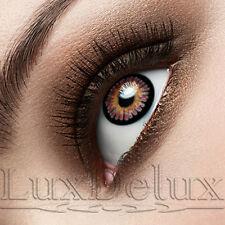 Intensive farbige Design-Kontaktlinsen: Jerry WEINROT - 12 MONATE Tragedauer