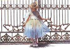 Steve Hanks HOLD ONTO THE GATE Giclee Canvas #150/150