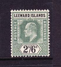 LEEWARD ISLANDS 1902  2/6d  KEVII  MLH  SG 27