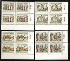 AUSTRIA # 773-6 MNH NATIONAL LIBRARY