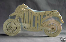 Ducati Hypermotard Motorcycle Wooden Puzzle Toy NEW