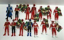 """Lot of 14 ~ GOKAIGER Sentai Hero Series Bandai soft vinyl 7"""" figures"""