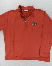 Louisville Cardinals Stitched 1/4 Zip Football Basketball Pullover (Mens XL) Red