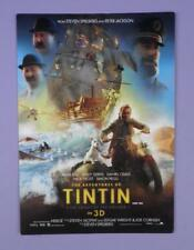 The Adventures of TINTIN: The Secret Uicorn UK Premiere Ticket  2011