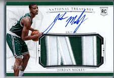 Jordan Mickey Patch Auto /25 2015-16 National Treasures Rookie #131 RPA Celtics