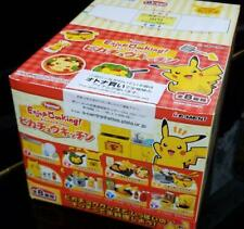 Re-Ment Pikachu Kitchen Miniature Figure Full set Complete Rare Pokemon #10562